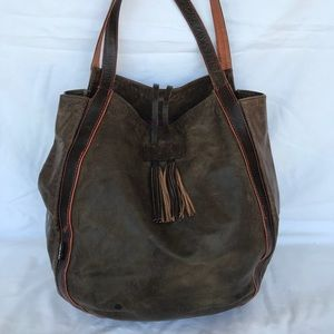 73b2873a91 Tano distressed leather tote
